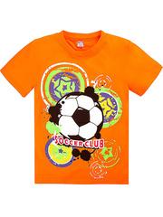 BK003-31 футболка детская, оранжевая