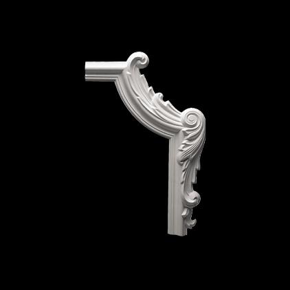 Угловой элемент Европласт из полиуретана 1.52.293, интернет магазин Волео