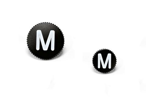 Спусковая кнопка Leica 12мм (черная)