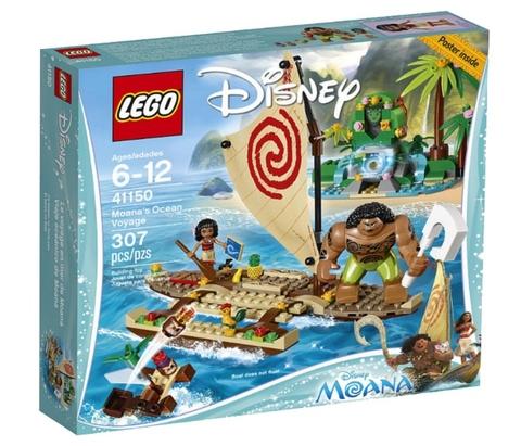 LEGO Disney Princess: Морское путешествие Моаны 41150