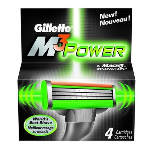 Кассеты Gillette Mach3 Power 4 шт