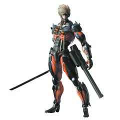Revengeance Play Arts Kai - Raiden Red Version PX