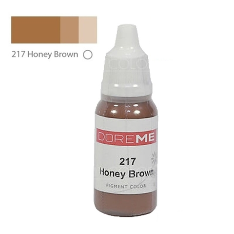 Пигменты #217 Honey Brown DOREME 15ml