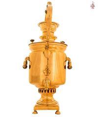 Самовар «Самовар - Чайник» 7л медальный латунь угольный