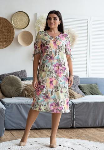 Лина. Летнее платье больших размеров