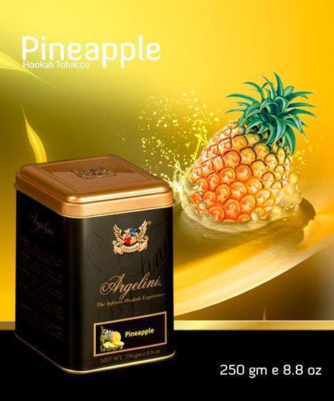 Табак для кальяна Argelini Pineapple 250 гр.