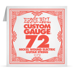 1172 Ernie Ball Nickel Wound Single String 0.72
