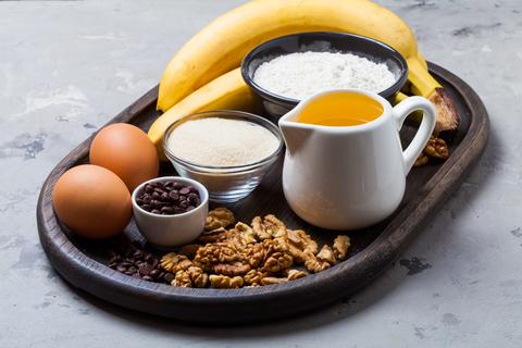 Поднос для завтраков из дуба