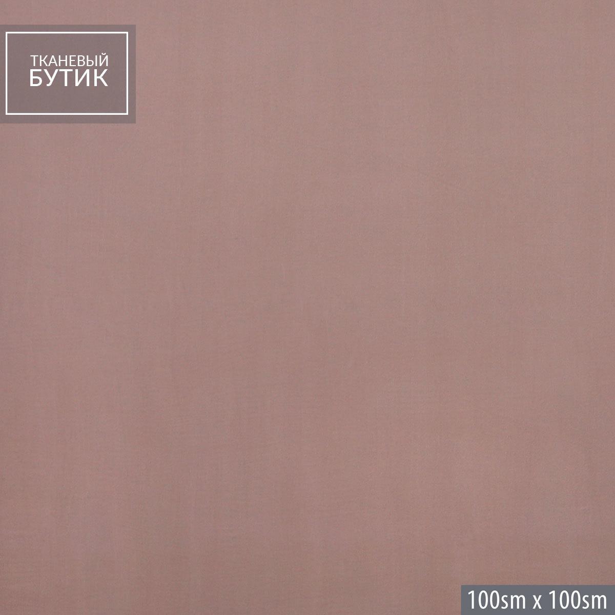 Вискозно-шелковый пудровый бархат