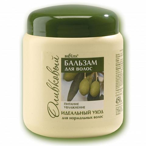 Белита Оливковая Бальзам для нормальных волос оливковый Питание & Увлажнение 450мл