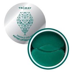 Лифтинг-патчи с пептидом змеи TRIMAY Emerald Syn-Ake Peptide Lifting Eye Patch (60+30)