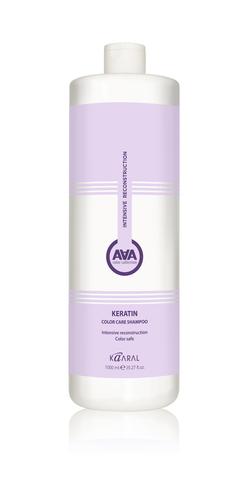Шампунь ААА Каарал кератиновый для окраш волос 1000мл
