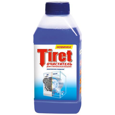 Очиститель д/стиральных машин Tiret 250мл.