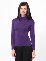 253-4 водолазка женская, фиолетовая