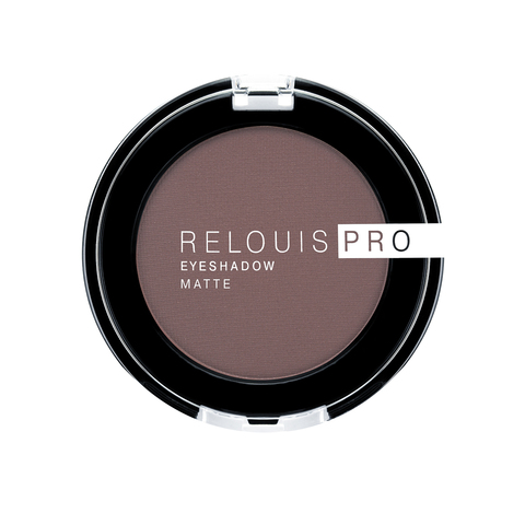 Тени для век Relouis Pro Eyeshadow Matte тон 13 Iced Coffee