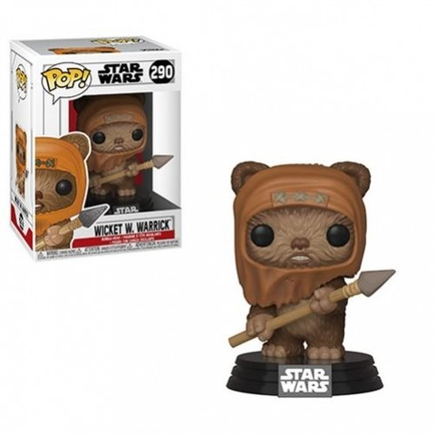 Фигурка Funko POP! Bobble: Star Wars: Wicket 37525