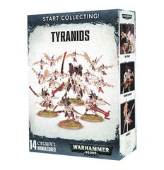 Start Collecting! Tyranids. Коробка