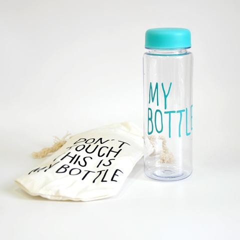 Бутылка для напитков My Bottle 600 мл (бирюзовая)