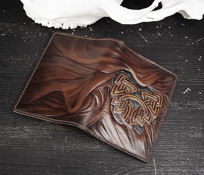 BC206-2 Крутой блокнот «Борода» ручной работы (А6) фото 04