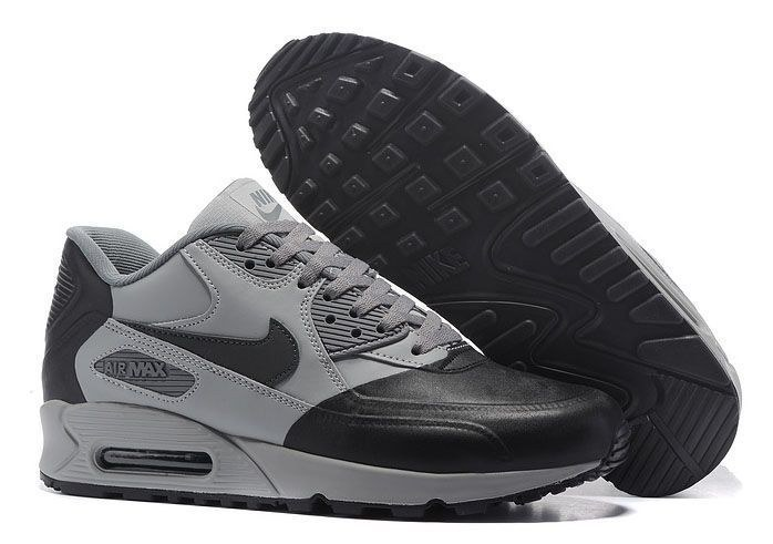 Nike Air Max 90 Premium SE (Wolf Grey/Black) (072)