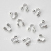 Защита ланки (тросика) от перетирания 6х5 мм (цвет - серебро), 10 штук