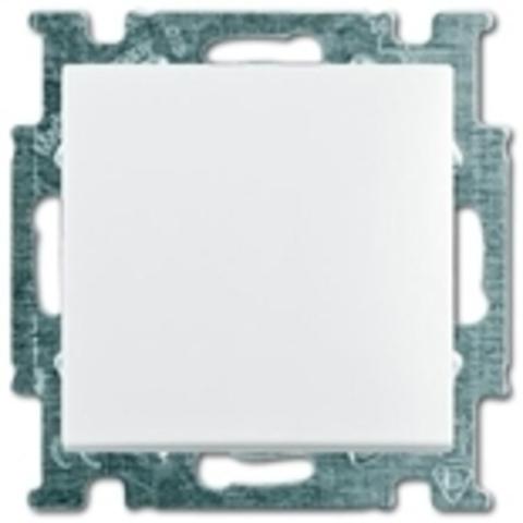 Переключатель промежуточный одноклавишный. Цвет белый. ABB Basic 55. 1012-0-2145