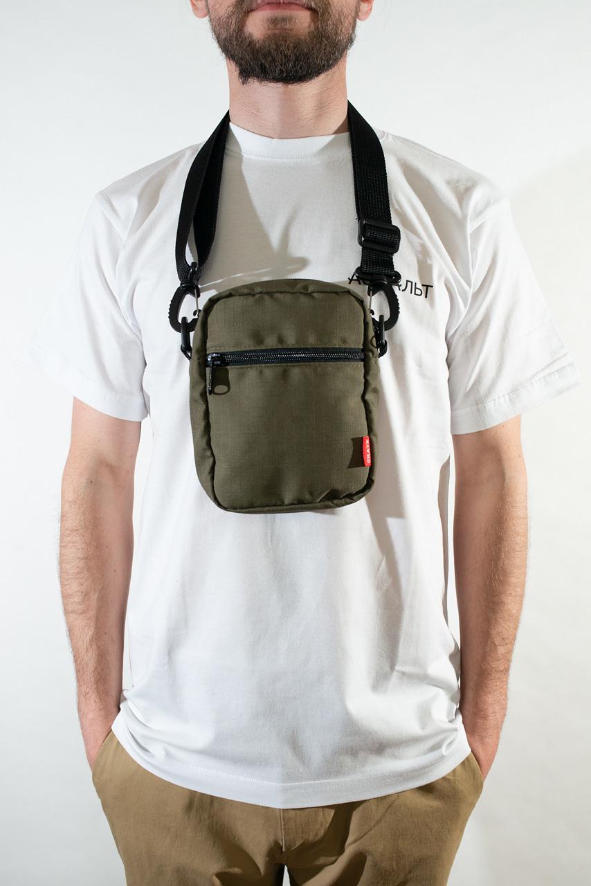 Сумка через плечо SKATE BAG Shoulder Bag (Temp Olive RS)