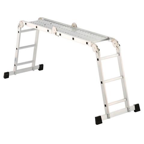 Стремянка HAILO Лестница-платформа ProfiStep Combi,H=435см (7412-031)