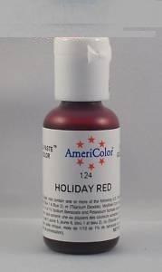 Краска краситель гелевый HOLIDAY RED 124, 21 гр