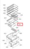 Ящик для овощей для холодильника Bosch (Бош)/Siemens (Сименс) - 741324