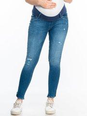Евромама. Брюки джинсы для беременных с бандажом