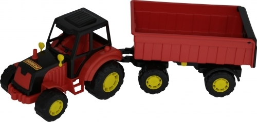 Мастер трактор с прицепом N1 (Артикул: EV20384)