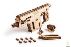Штурмовая винтовка от Wood Trick - деревянный конструктор, 3D пазл, Сборная модель