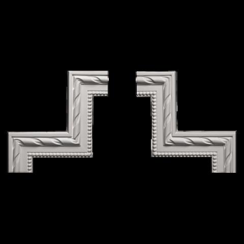 Угловой элемент Европласт из полиуретана 1.52.294, интернет магазин Волео