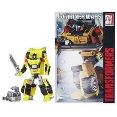 Робот - трансформер Санстрикер с Комиксом (Sunstreaker) - Комбайнер Ворс, Hasbro