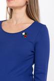 Платье для беременных 08064 синий