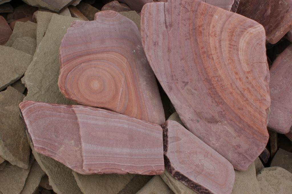 галтованный песчаник малиновая радуга образец