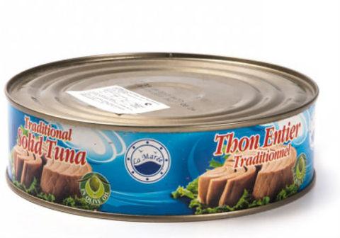 Филе тунца в оливковом масле, 700г