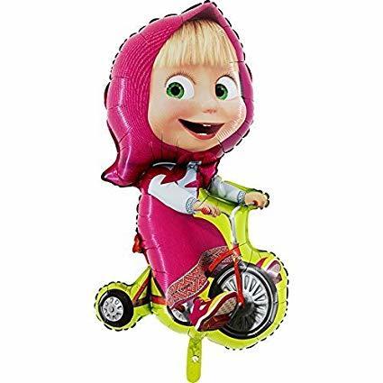 Детям Фольгированный шар Маша на велосипеде 51udhrVRe7L._SX425_.jpg