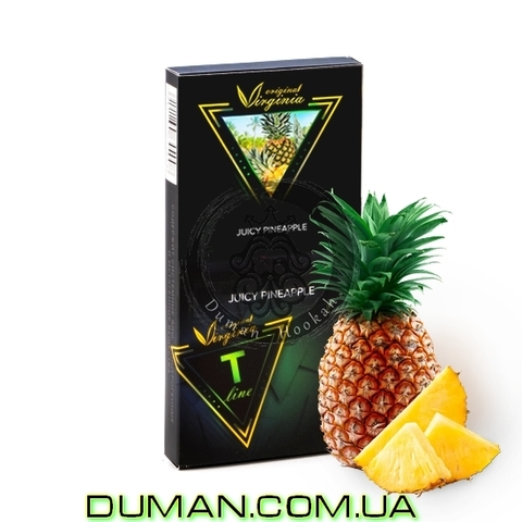 Табак Original Virginia T LINE Juicy Pineapple (Ориджинал Вирджиния Сочный Ананас)