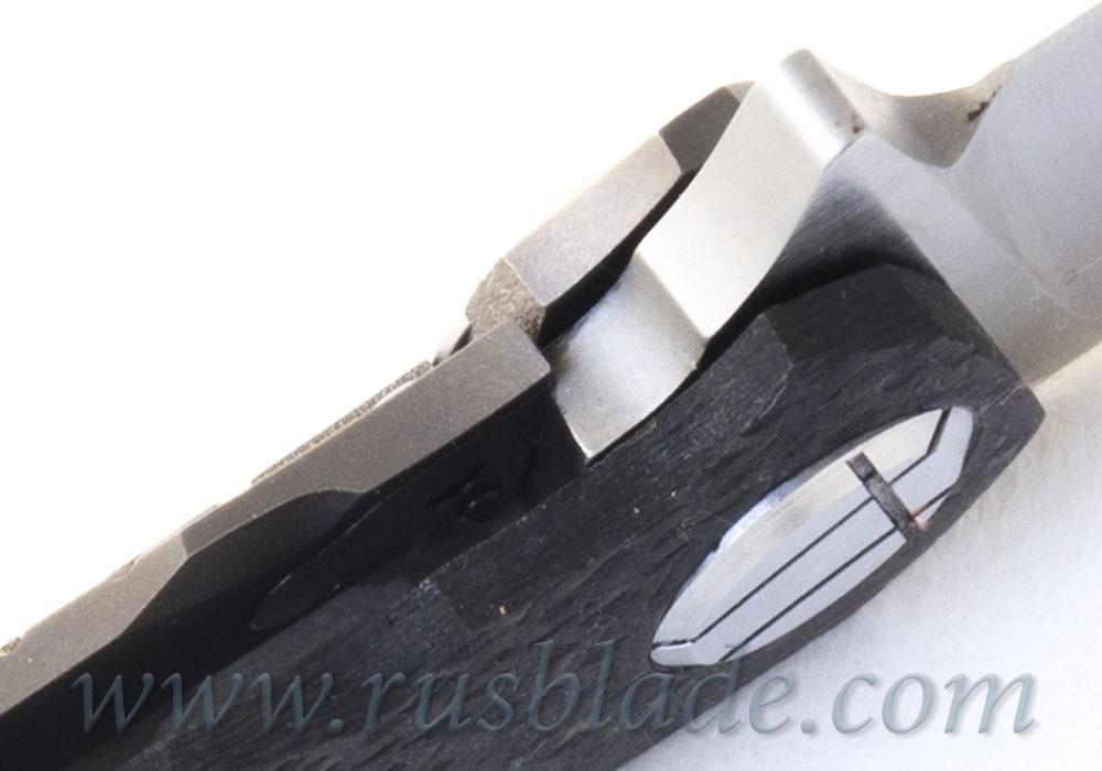CKF Asymmetric midi folder (Alexey Konygin design, S90V, titanium, CF)