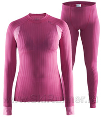 Комплект термобелья Craft Active Extreme 2.0 Pink женский