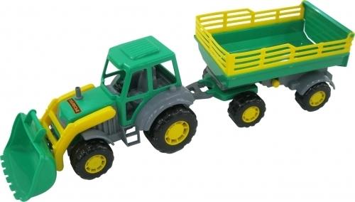 Мастер трактор с прицепом N2 (Артикул: EV20969)