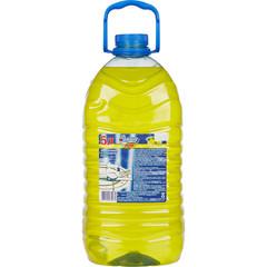 Средство для мытья посуды ЗОЛУШКА Лимон 5л ПЭТ Канистра