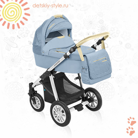 "Коляска Baby Design ""Dotty Denim"" 2в1 (Беби Дизайн)"