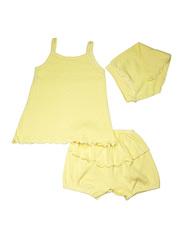 Комплект 1141 Мелонс бледно-желтый