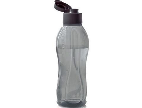 Бутылка эко 1л в чёрном цвете