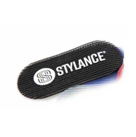 Липучки для фиксации волос Stylance, 2 штуки, черные