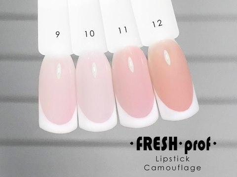 Гель-лак Fresh Prof 10 мл Lip Stick Comouflage 10