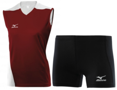 Женская волейбольная форма Mizuno Trade (79HV361M 62-79RT363M 09) красная